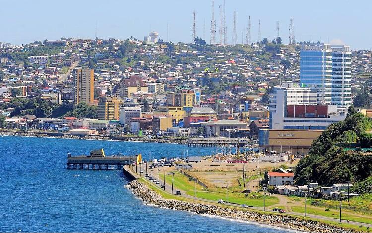Puerto Montt,al sur de Chile