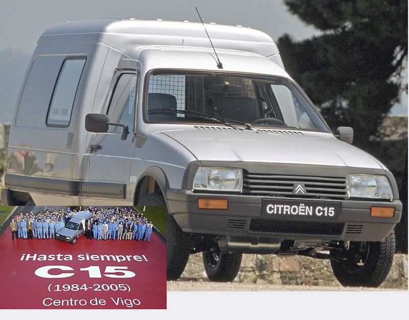 EL útimo C15 de Citroën
