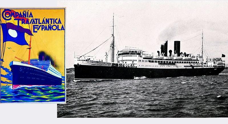 Por fin, en 1928 la Compañía Trasatlántica Española incluyó a Vigo en sus rutas
