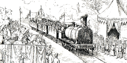 Larga porfía de Vigo para conseguir el ferrocarril