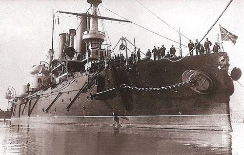 La gran flota del Zar atrapada en la Ría. | Vigo en el epicentro de la atención mundial