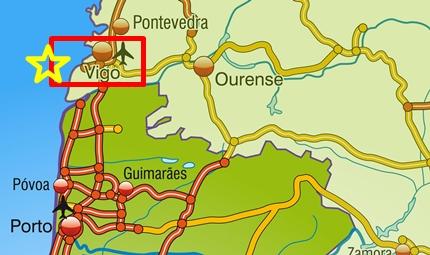 SOMOS VIGO Y ESTAMOS CERCA menos mal para el norte de portugal