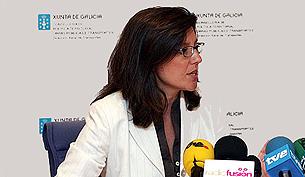 La Conselleira de Política Territorial en el Club Financiero Vigo