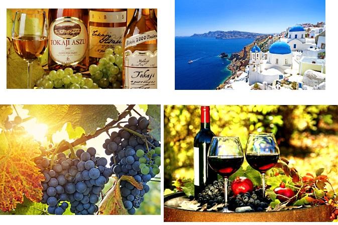 OTROS VINOS DE EUROPA Y DEL MUNDO ( I ) | Tokaj, Santorini y cepas de Cerdeña