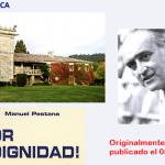 LA SINIESTRA HISTORIA | DEL PAZO DA TOUZA | Que en su día compró y restauró | Manuel Pestana