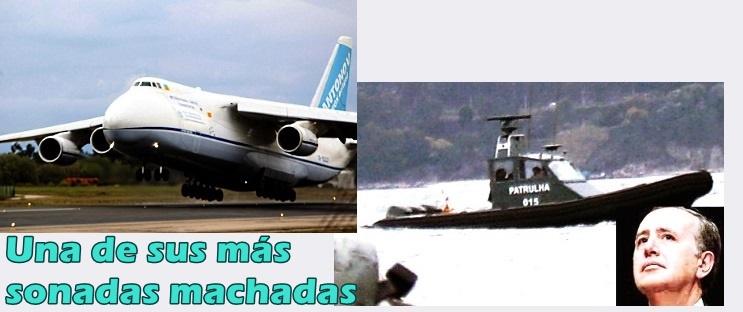 Las patrulleras para Mozambique que Fernández Sousa encargó y envió al país africano en un enorme avión Antonov fletado para la ocasión