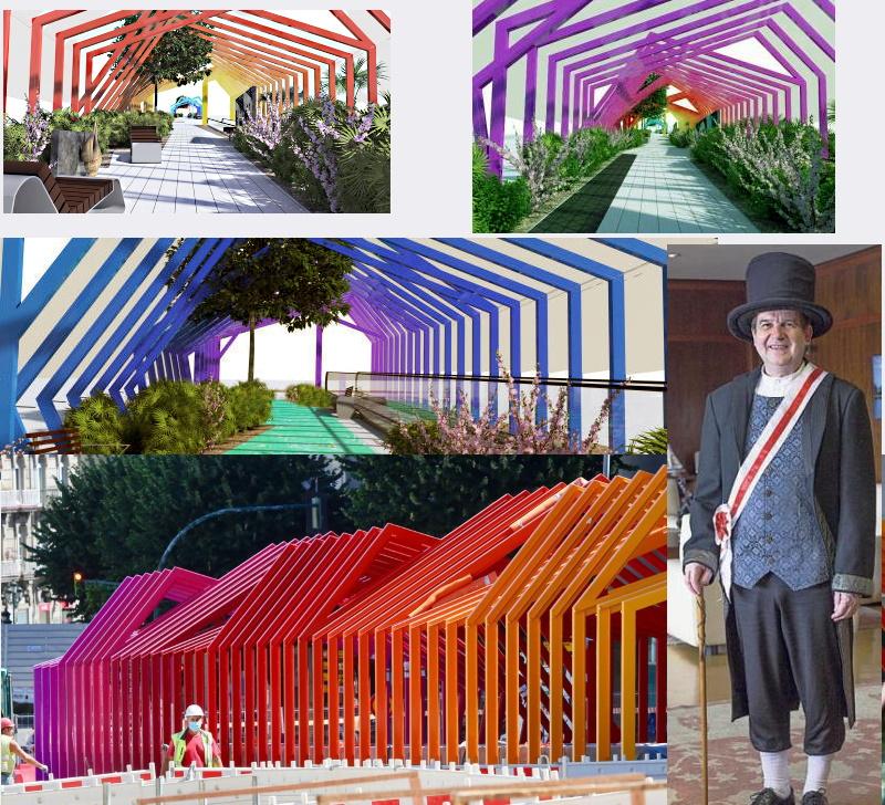 En Gran Vía Abel Caballero firma otra antiestética actuación urbana
