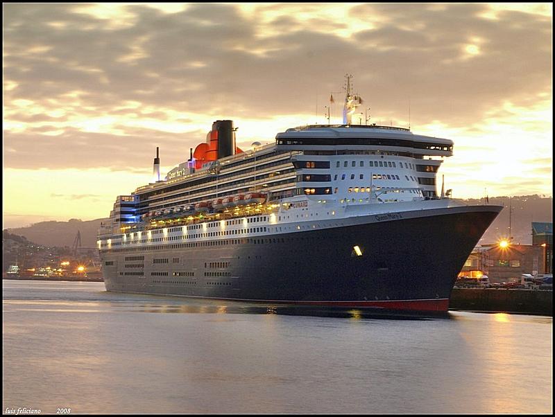 El Queen Mary 2 se estrena en Vigo