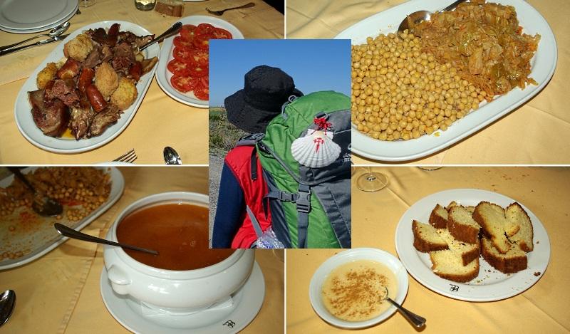 La gastronomía en el Camino de Santiago