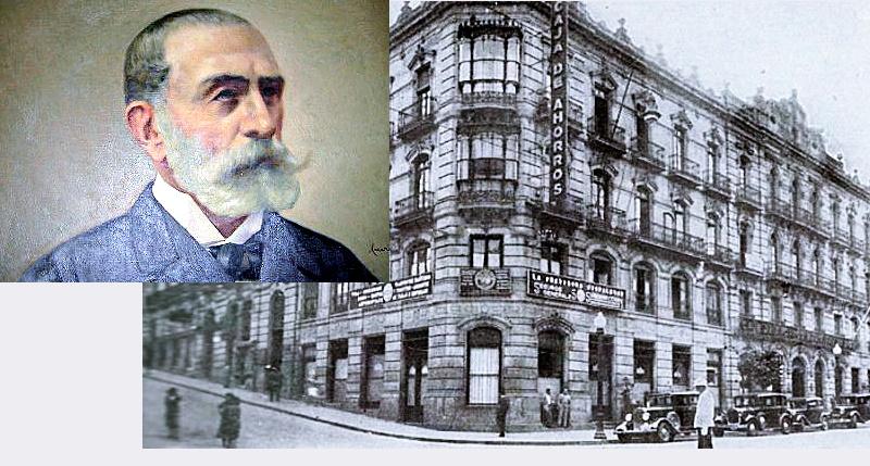 Manuel Bárcena y la Caja de Ahorros