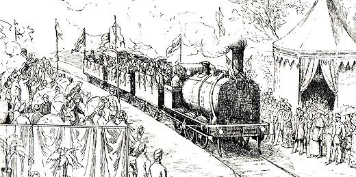 La larga porfía de Vigo para conseguir | el ferrocarril