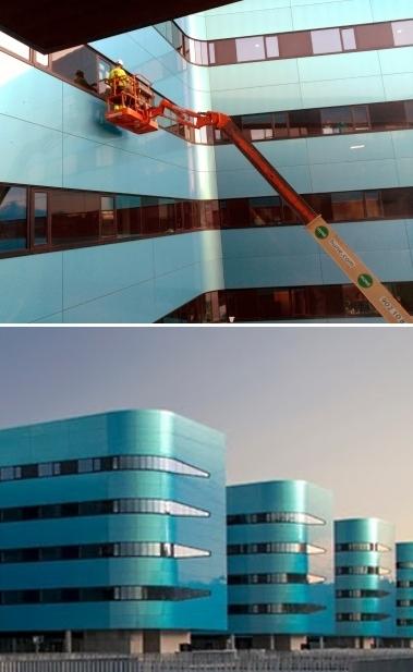 LA INMENSA CHAPUZA DEL NUEVO HOSPITAL QUEDA TODAVÍA MÁS PATENTE TRAS EL EPISODIO DE LA GRÚA EN LA VENTANA