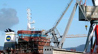 El buen momento de la construcción naval